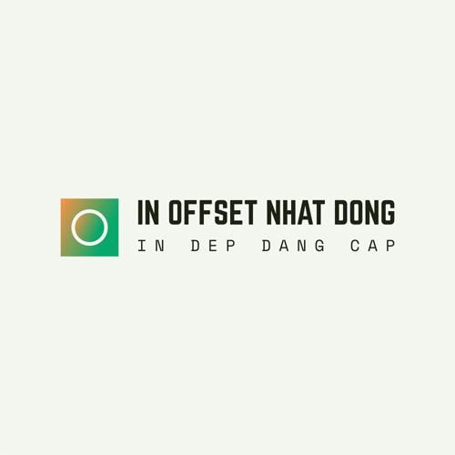 Logo in offset nhat dong